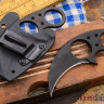 Нож Brous Blades Silent Soldier Hawk Blackout Neck Knife